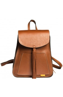 VERY SOFT VACCINE LEATHER BACKPACK