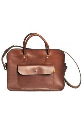 Leather Executive Briefcase notebook / laptop